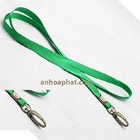 Loại màu xanh lá cây rộng 1,5cm móc kim loại