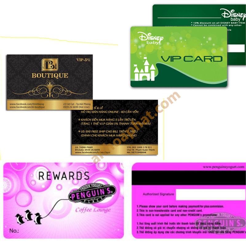 Thẻ VIP - Thẻ Khách hàng 004