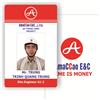 kích thước thẻ nhựa nhân viên PVC
