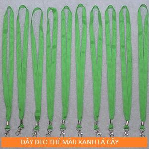 Mẫu dây đeo màu xanh lá cây xẫm